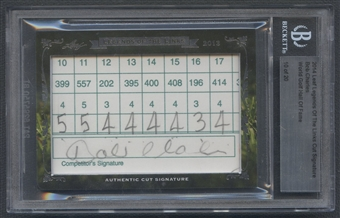 2014 Leaf Legends Of The Links Bob Charles Cut Auto #10/20