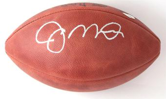Joe Montana Autographed San Francisco 49ers Official NFL Football (Tristar)