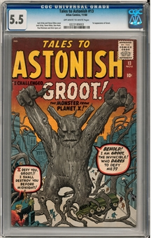 Tales to Astonish #13 CGC 5.5 (OW-W) *023189003*