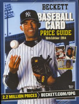 2014 Beckett Baseball Yearly Price Guide (36th Edition) (Rivera)
