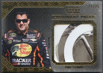 2014 Press Pass Five Star #PPTS Tony Stewart Paramount Pieces Gold Sheet Metal #15/25