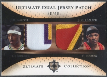 2005/06 Ultimate Collection #DPSS J.R. Smith & Josh Smith Dual Patch #38/40