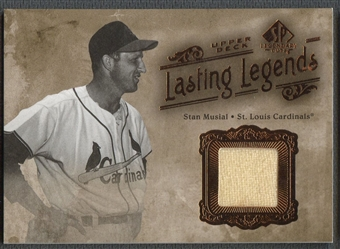 2005 SP Legendary Cuts #SM Stan Musial Lasting Legends Material Jersey
