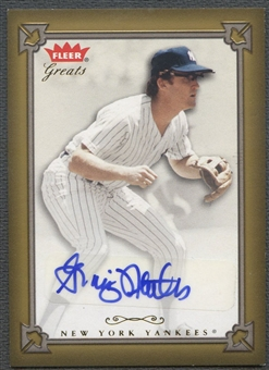 2004 Greats of the Game #GN Graig Nettles Auto