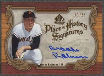 2006 SP Legendary Cuts #BR2 Brooks Robinson Place in History Auto #31/35