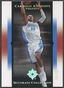 2005/06 Ultimate Collection #29 Carmelo Anthony Silver #13/25