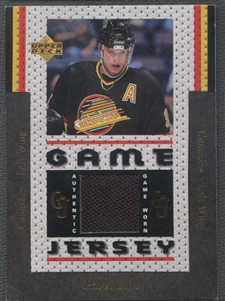 1996/97 Upper Deck #GJ10 Pavel Bure Game Jersey