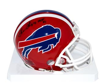Thurman Thomas Autographed Buffalo Bills Mini Football Helmet w/ HOF inscription