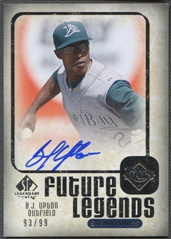 2008 SP Legendary Cuts #BU B.J. Upton Future Legends Signatures Auto /99