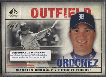 2008 SP Legendary Cuts #47 Magglio Ordonez Memorable Moments #1/1