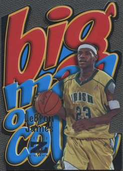 2011/12 Fleer Retro #2 LeBron James Big Men on Court
