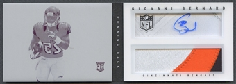 2013 Panini Playbook #212 Giovani Bernard Printing Plate Rookie Patch Auto #1/1