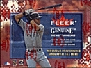 2002 Fleer Genuine Baseball Hobby Box
