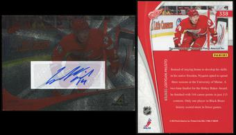 2011/12 Panini Pinnacle Ice Breakers Autographs #338 Gustav Nyquist RC