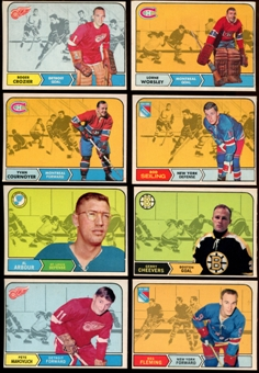 1968/69 O-Pee-Chee Hockey Starter Set Of 109 Cards (EX-MT)