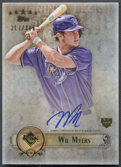 2013 Topps Five Star #WMY Wil Myers Rookie Auto #217/386