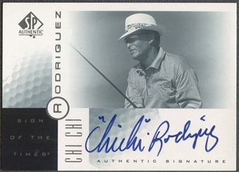 2001 SP Authentic #CR Chi Chi Rodriguez Sign of the Times Auto