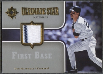 2007 Ultimate Collection #DM Don Mattingly Ultimate Star Materials Jersey