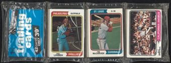 1974 Topps Baseball Rack Pack