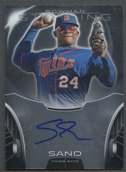 2013 Bowman Sterling #MS Miguel Sano Prospect Rookie Auto