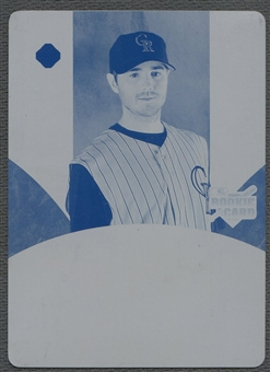 2006 Ultimate Collection #139 Josh Wilson Printing Plate Cyan #1/1