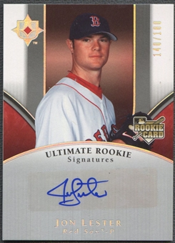 2006 Ultimate Collection #162 Jon Lester Rookie Auto #140/180