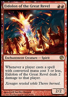 Magic the Gathering Journey into Nyx Single Eidolon of the Great Revel Foil NEAR MINT (NM)