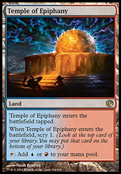 Magic the Gathering Journey into Nyx Single Temple of Epiphany Foil NEAR MINT (NM)