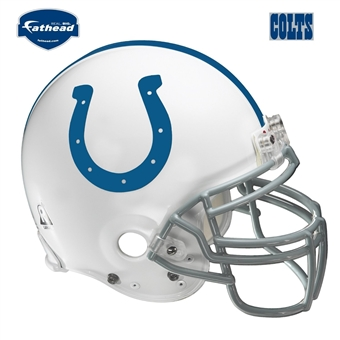 Fathead Indianapolis Colts Helmet Wall Graphic 4' x 4'