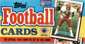 1989 Topps Football Factory Set (Christmas Box)