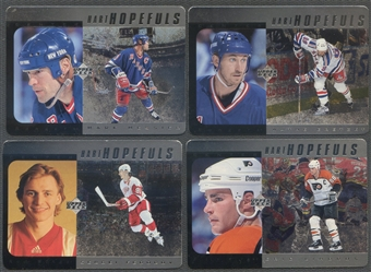 1996/97 Upper Deck Hart Hopefuls Silver Complete Hockey Set