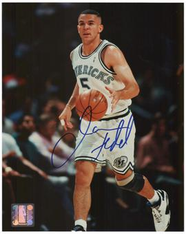 Jason Kidd Autographed Dallas Mavericks 8x10 Photo