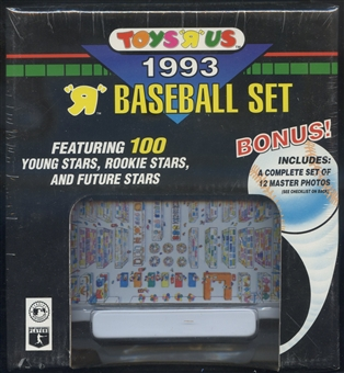 1993 Toys 'R' Us Baseball Factory Set
