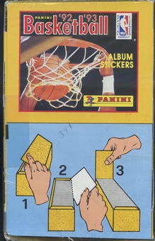 1992/93 Panini Basketball Sticker Box