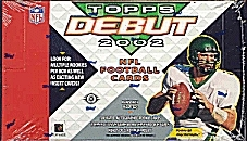 2002 Topps Debut Football Hobby Box