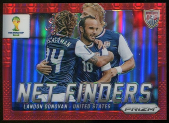 2014 Panini Prizm World Cup Net Finders Prizms Red #25 Landon Donovan /149