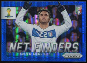 2014 Panini Prizm World Cup Net Finders Prizms Blue #16 Giuseppe Rossi /199