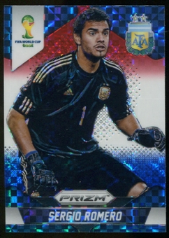 2014 Panini Prizm World Cup Prizms Red White and Blue #4 Sergio Romero