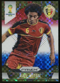 2014 Panini Prizm World Cup Prizms Red White and Blue #20 Axel Witsel
