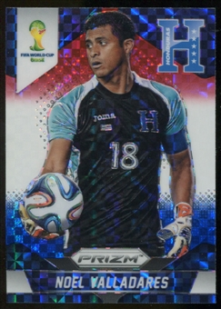 2014 Panini Prizm World Cup Prizms Red White and Blue #113 Noel Valladares