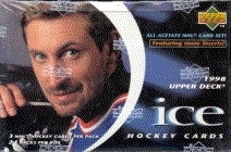 1997/98 Upper Deck Ice Hockey Hobby Box