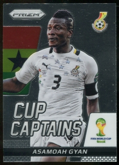 2014 Panini Prizm World Cup Cup Captains #2 Asamoah Gyan