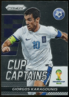 2014 Panini Prizm World Cup Cup Captains #11 Giorgos Karagounis