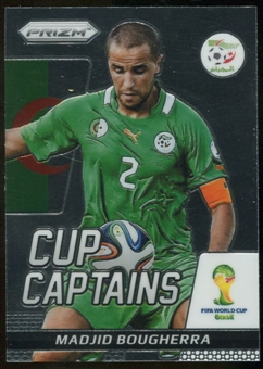 2014 Panini Prizm World Cup Cup Captains #20 Madjid Bougherra