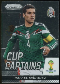 2014 Panini Prizm World Cup Cup Captains #24 Rafael Marquez