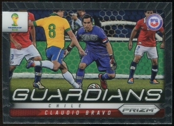 2014 Panini Prizm World Cup Guardians Prizms #7 Claudio Bravo