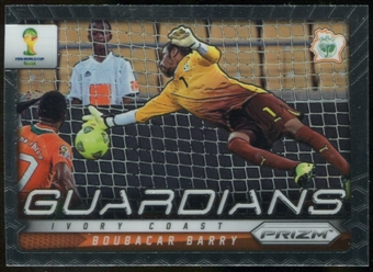 2014 Panini Prizm World Cup Guardians Prizms #9 Boubacar Barry