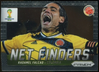 2014 Panini Prizm World Cup Net Finders Prizms #7 Radamel Falcao