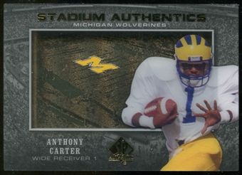 2012 Upper Deck SP Authentic Stadium Authentics #SAAC Anthony Carter