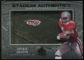 2012 Upper Deck SP Authentic Stadium Authentics #SAAG Archie Griffin
